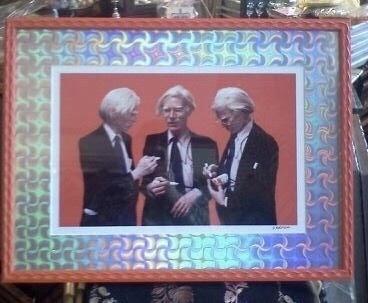 Warhol in Naranja (orange) Gaudi