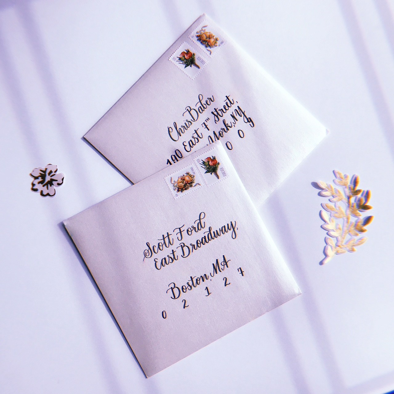 Envelope Calligraphy Classic Style