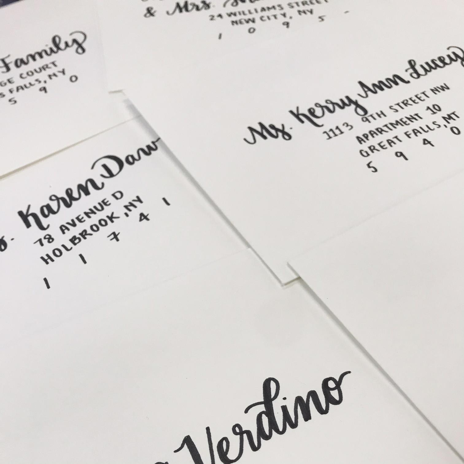 Envelope Calligraphy Script + Sans Serif Combo