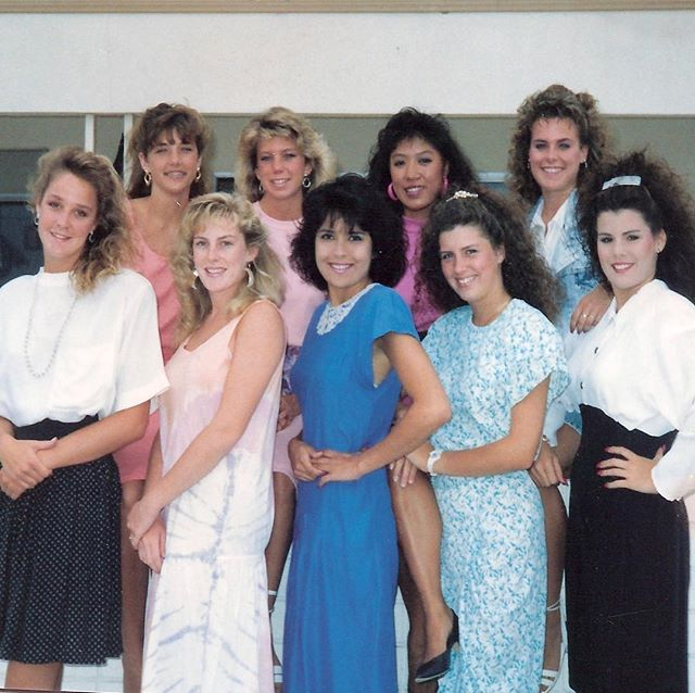 In honor of #tbt I present to you THE WOMEN OF 88! Good times!!