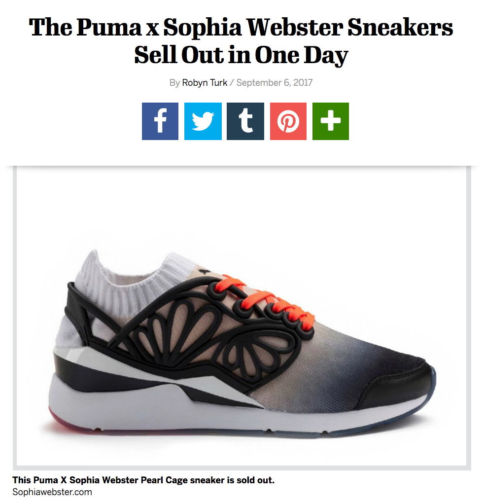 http://footwearnews.com/2017/fashion/collaborations/sophia-webster-puma-collaboration-sneakers-sold-out-415952/