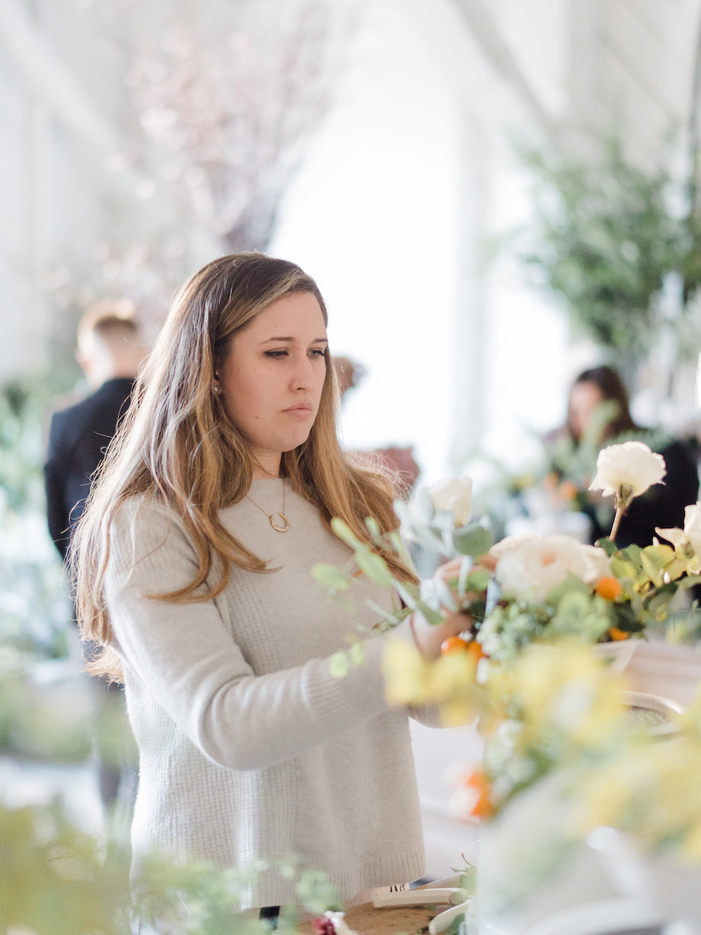 Kate Campbell Luster Floral Design at Sinclair and Moore Workshop, photo by Kristen Honeycutt Photo Co.jpg