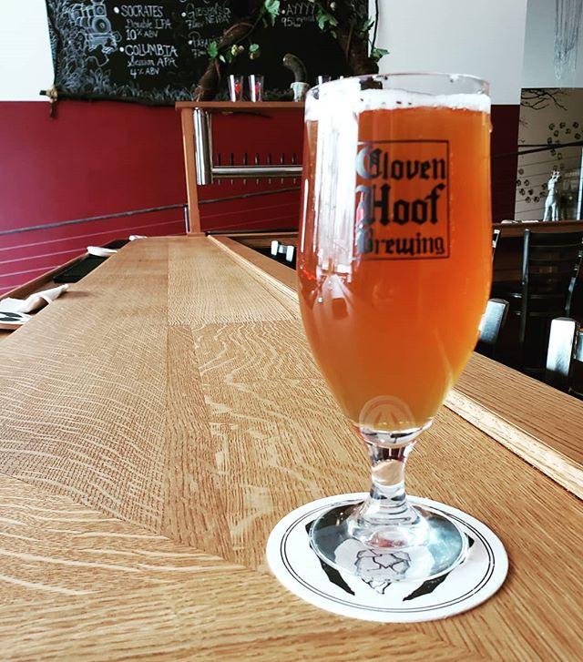 Paradise Lost at Cloven Hoof #drinkohiobeer #ashtabeautiful