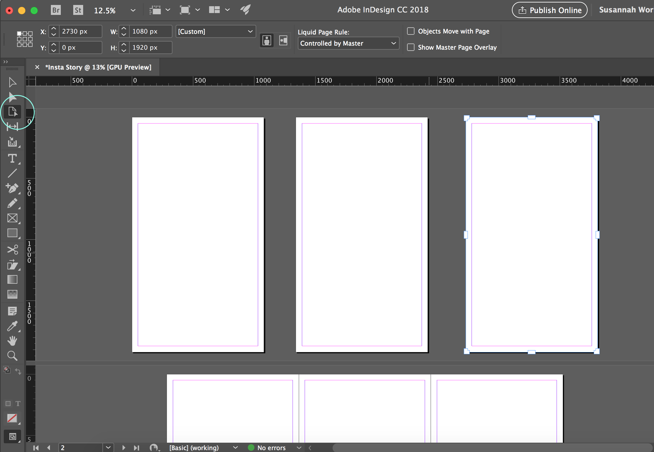 How to Fake Illustrator Artboards in InDesign