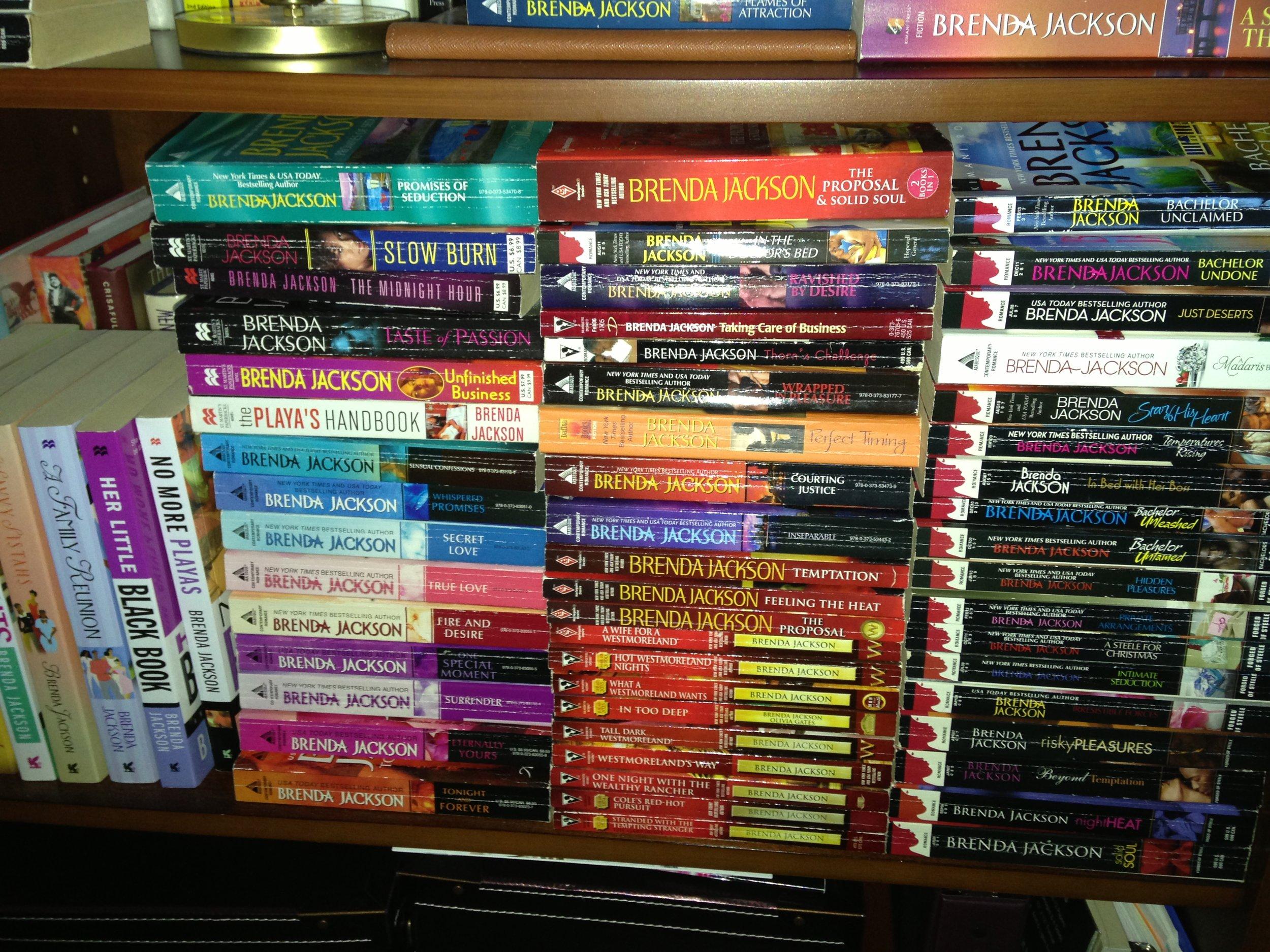 My Brenda Jackson Book Collection!