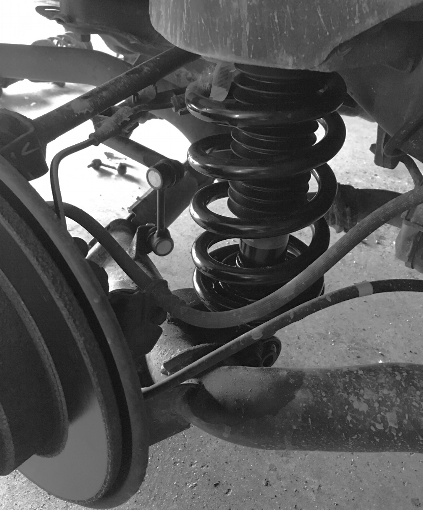Suspension System - Riding a bit rough? Could be your suspension system. Have us take a look we will check over the whole system and get you back on the road with a nice, smooth ride.
