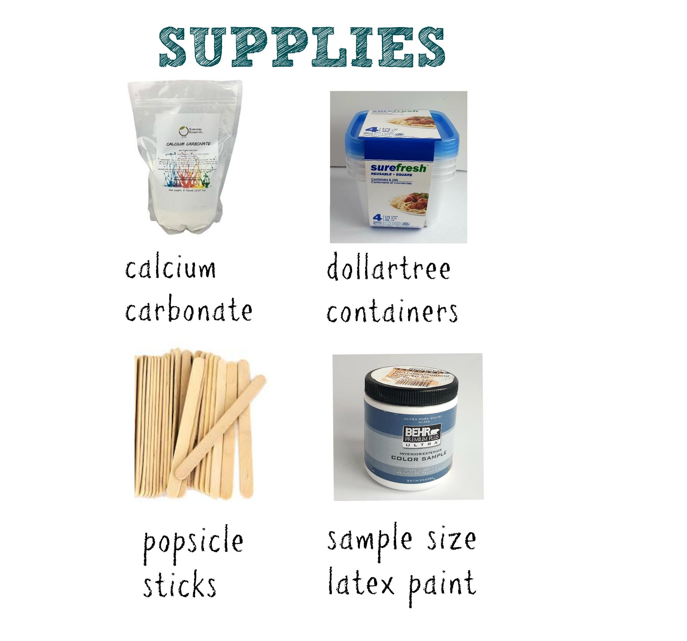 chalk paint supplies