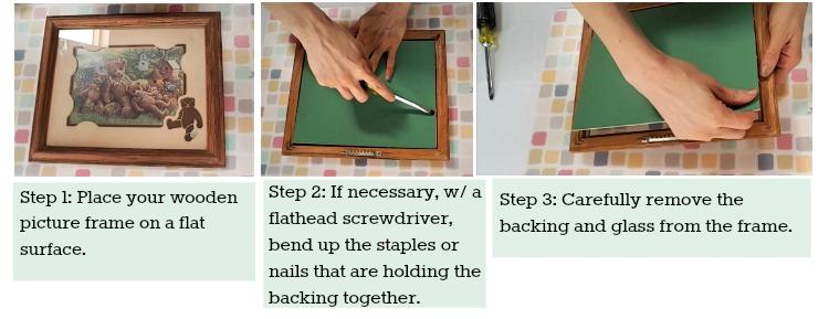 chalkboard instructions