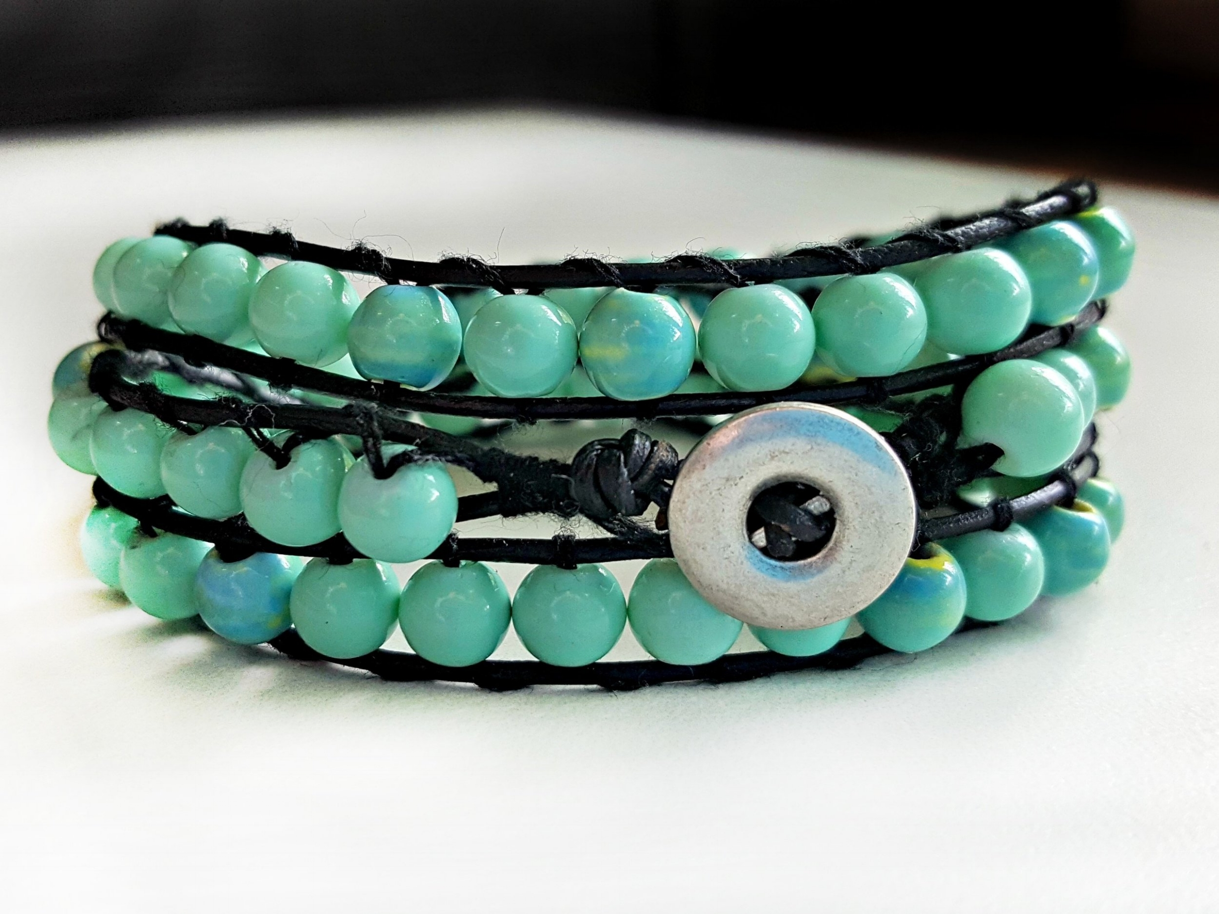 BEADED LADDER WRAP BRACELET ➽
