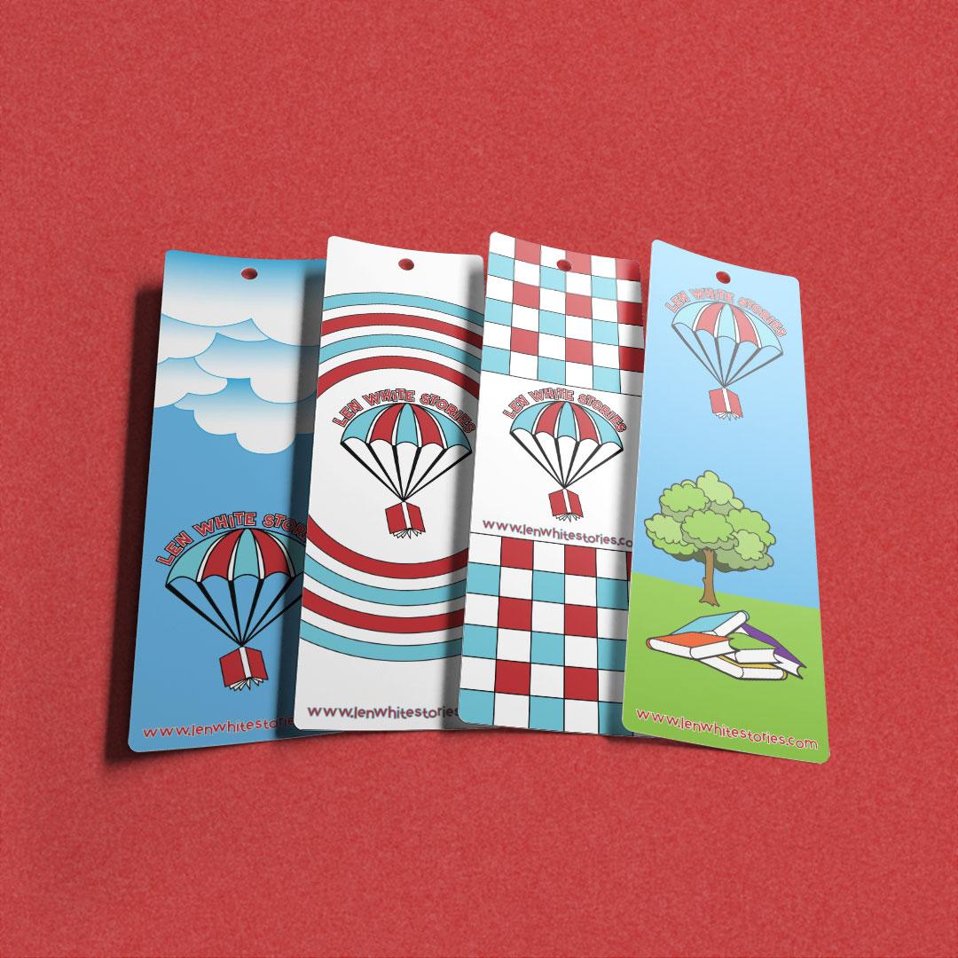 Len White Stories bookmarks