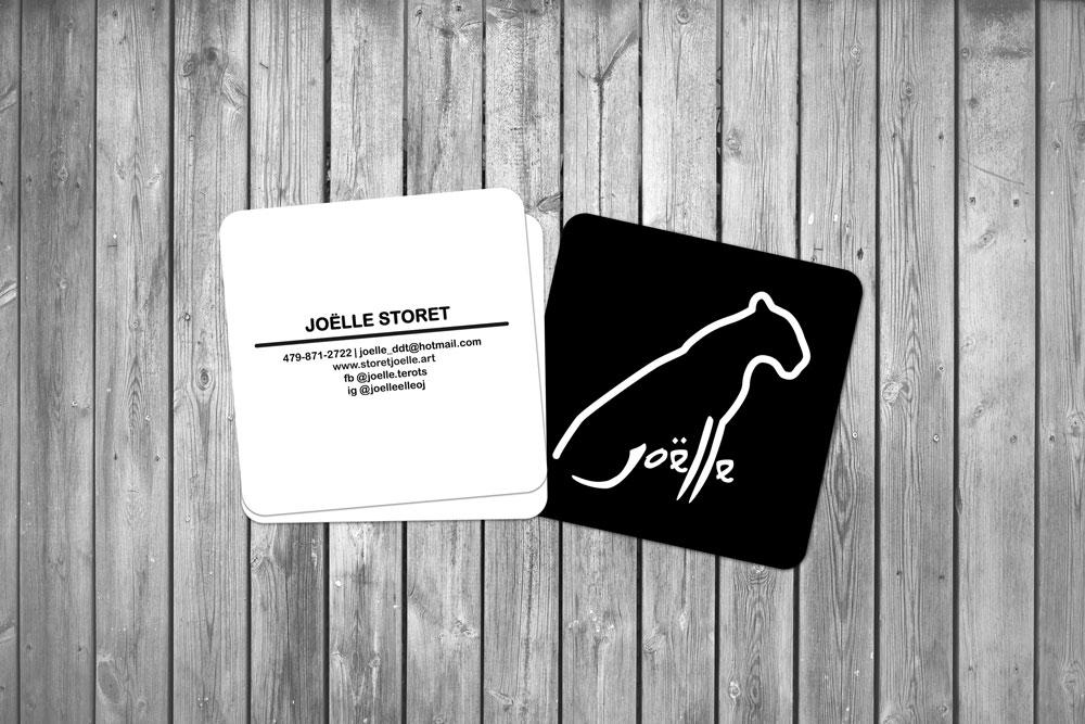 Joëlle Storet business card