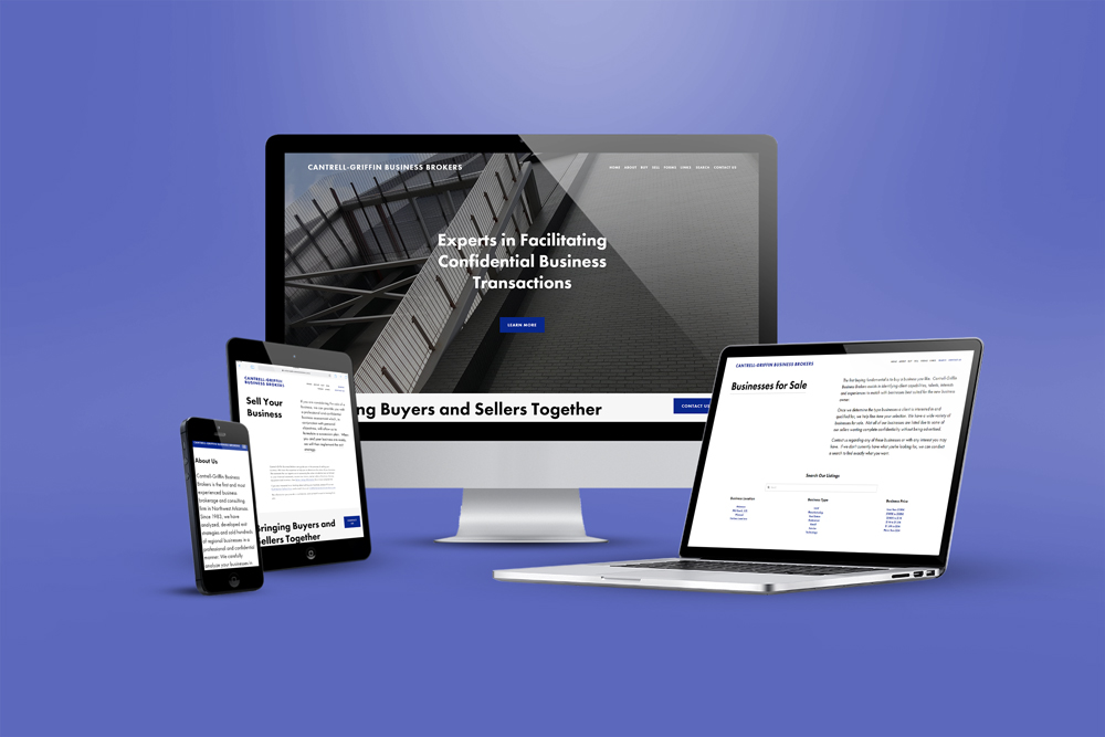 Cantrell-Griffin Business Brokers website