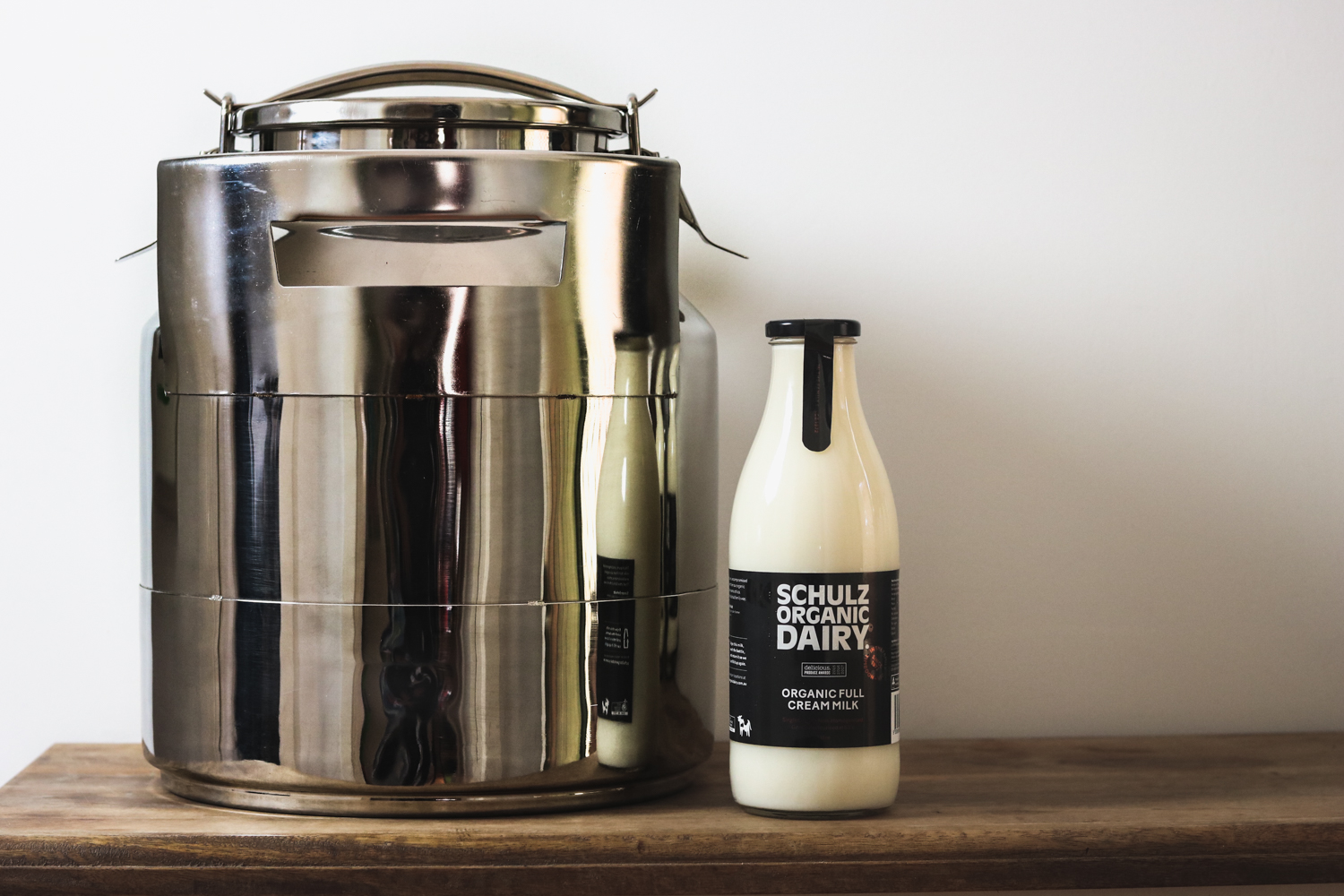 2nd generation milk pales (and new milk in glass initiative available for the punters at home!)