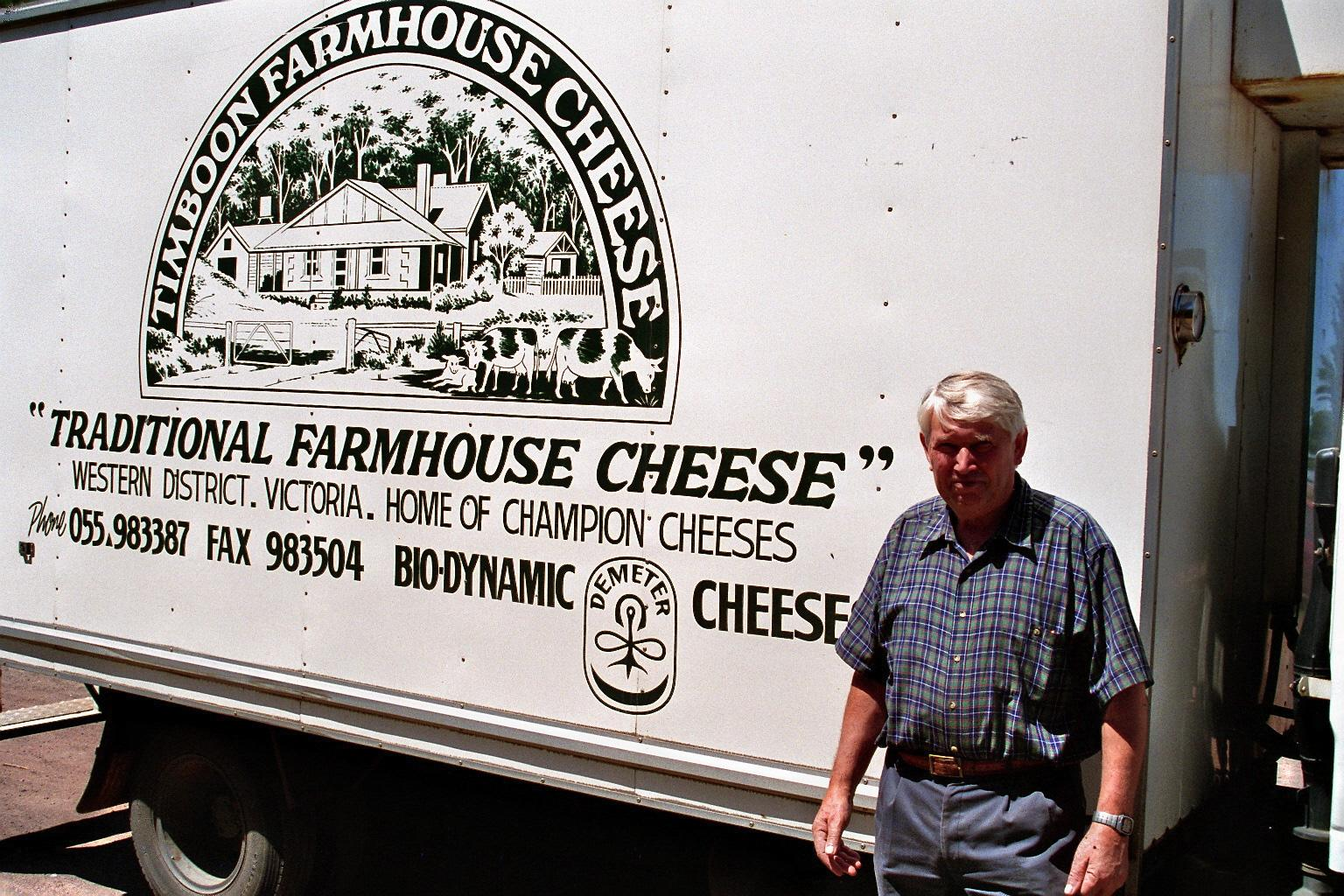 My Opa, Hermann Schulz. The first Schulz to farm our land and an innovator in chemical free farming.