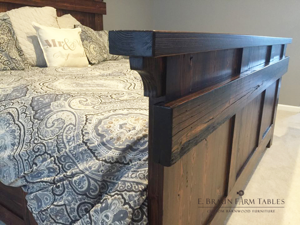 BR3 - Modified Shelf Bed - Footboard