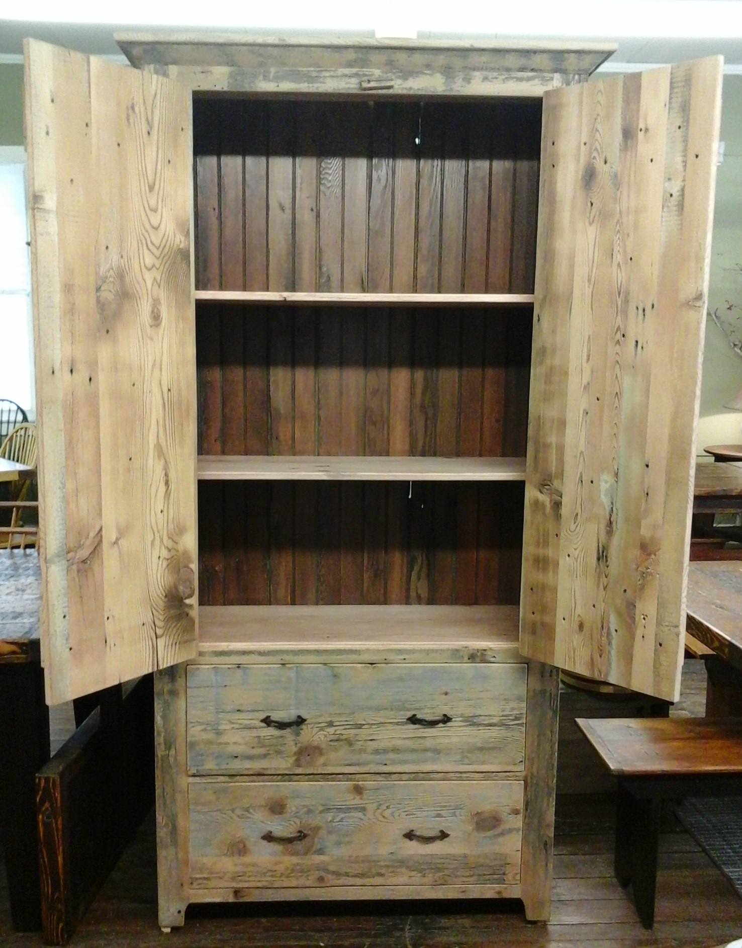 BR26 - Rustic Armoire