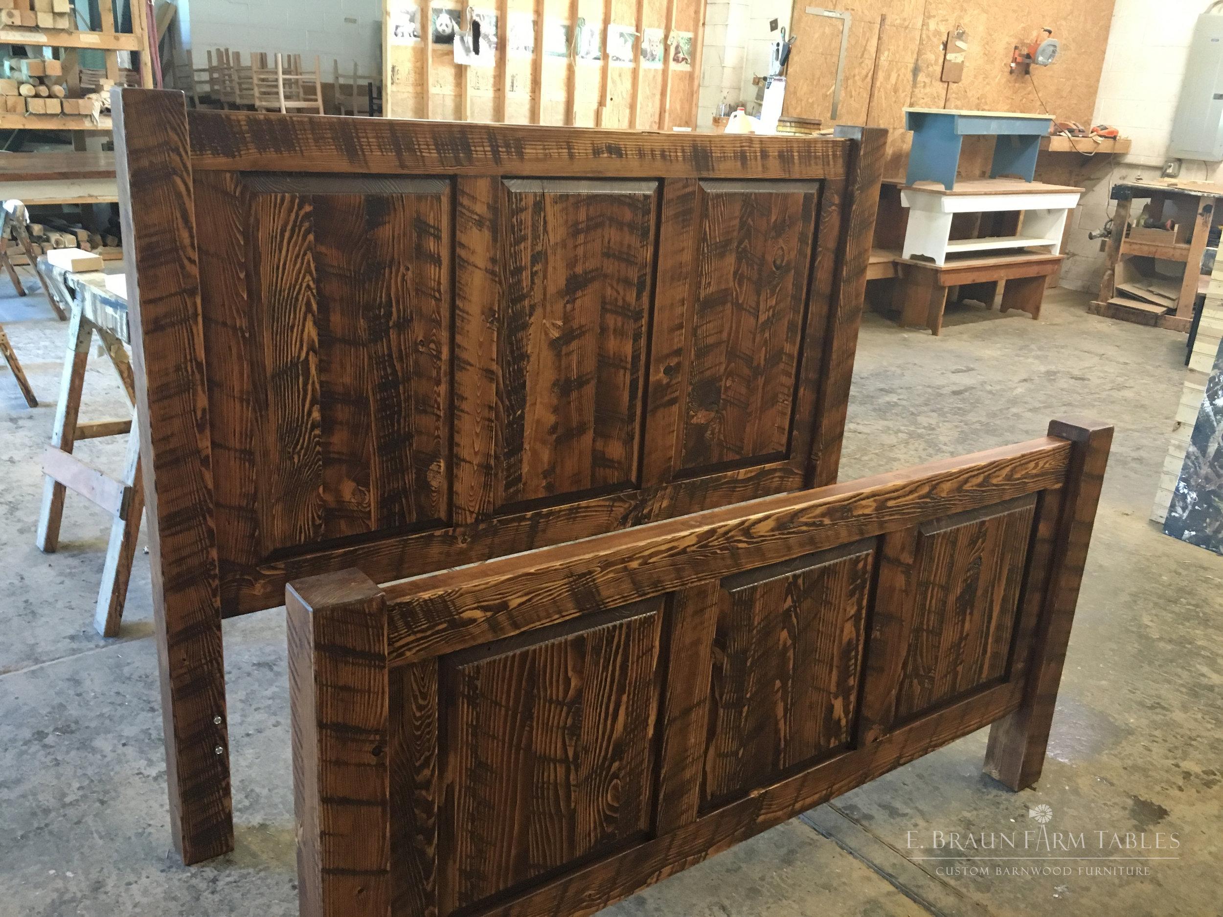 BR31 - Raised Panel Bed