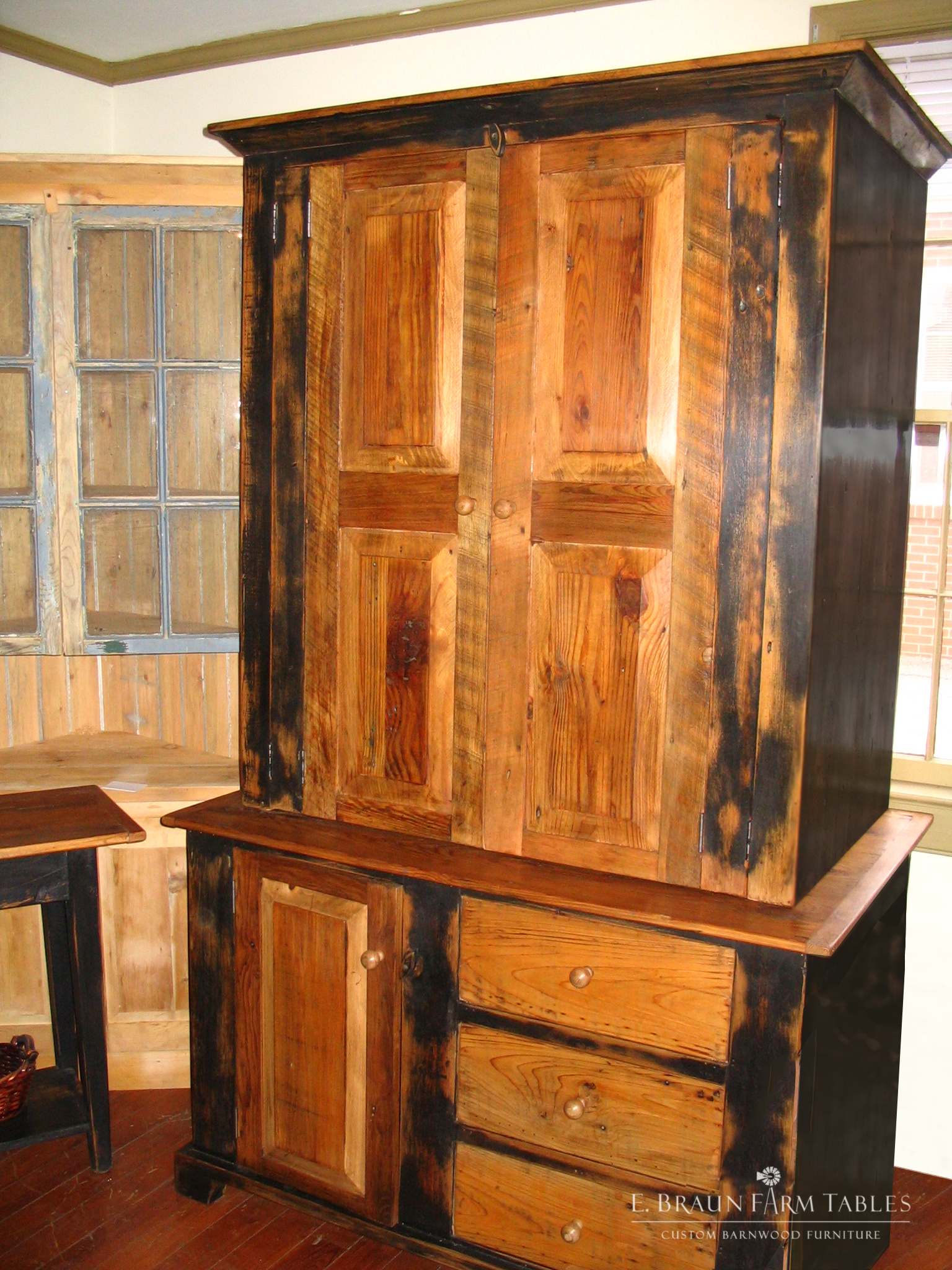 BR49 - Distressed Armoire
