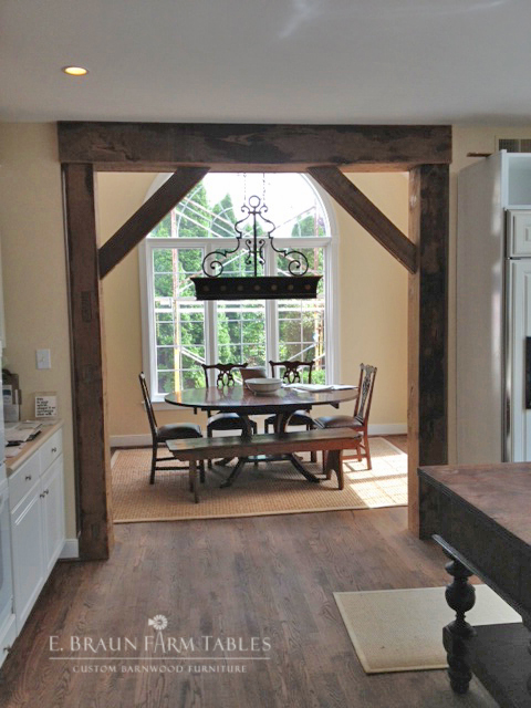 Reclaimed White Pine Beams 3