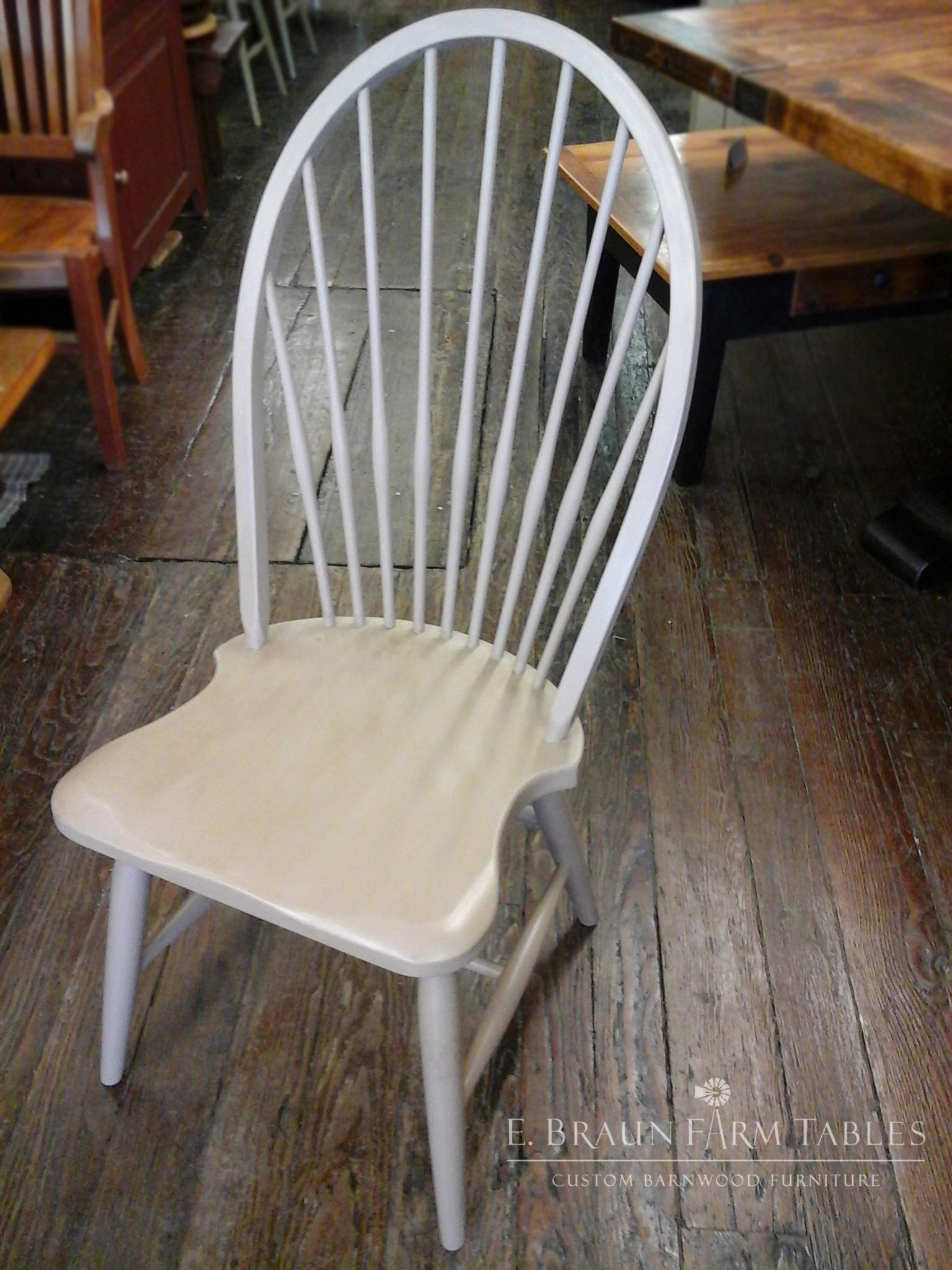 High Back Windsor Side Chair
