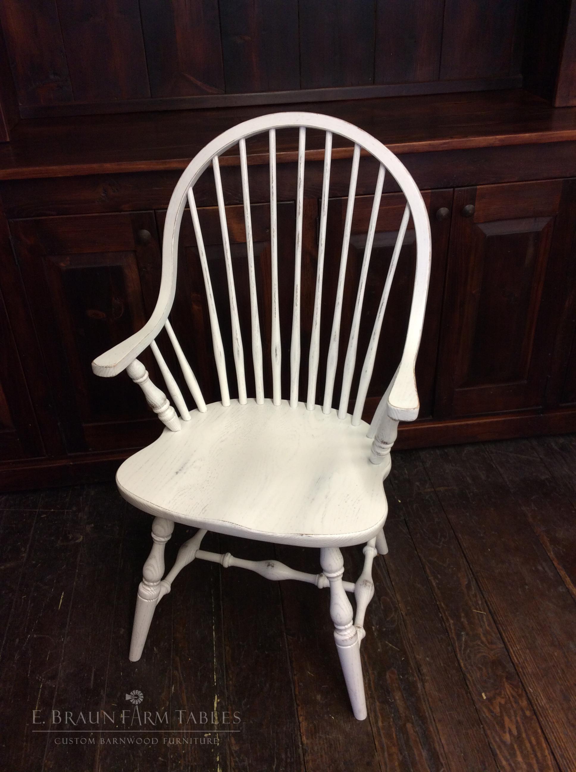 New England Windsor Arm Chair