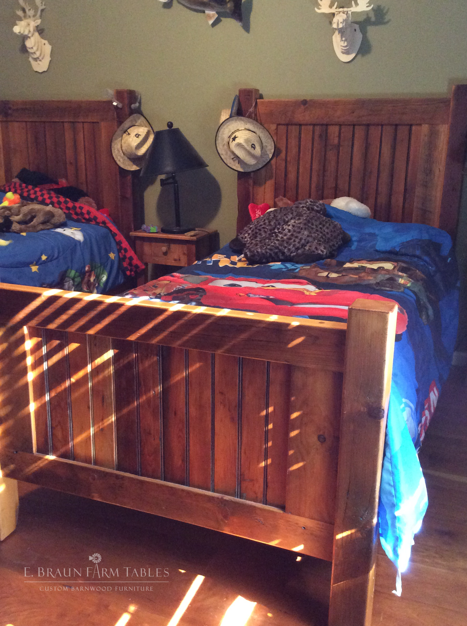BR44 - Basic Twin Bed