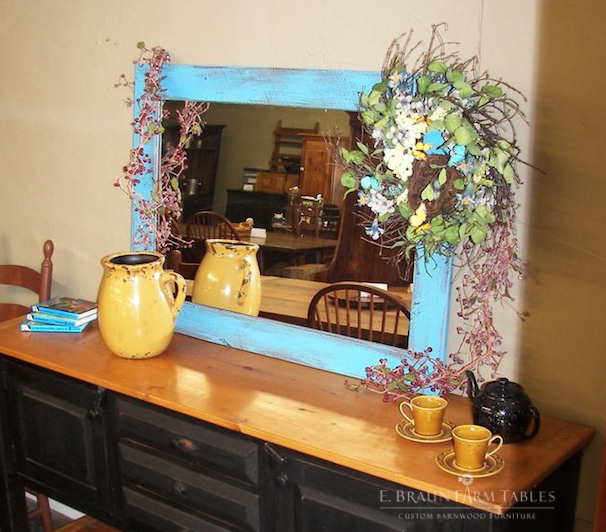 M15 - Barn Wood Mirror