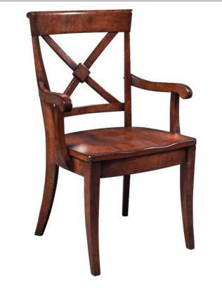 Braslow X-Back Arm Chair