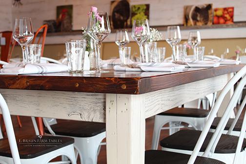 M18 - Farm Table - Suburban Restaurant