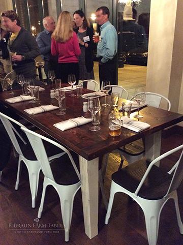 M21 - Farm Table - Suburban Restaurant
