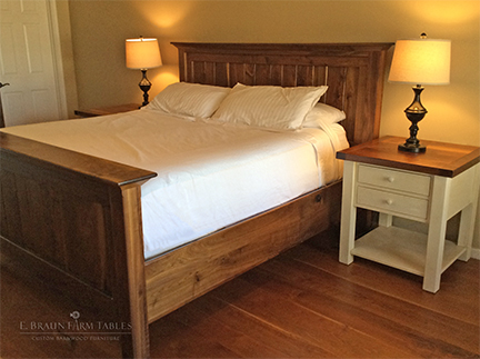 BR65 Shelf Bed and Nightstand