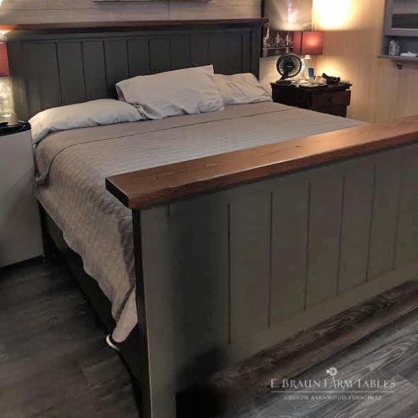 "BR71 - King Shelf Bed (2"" shelf)"