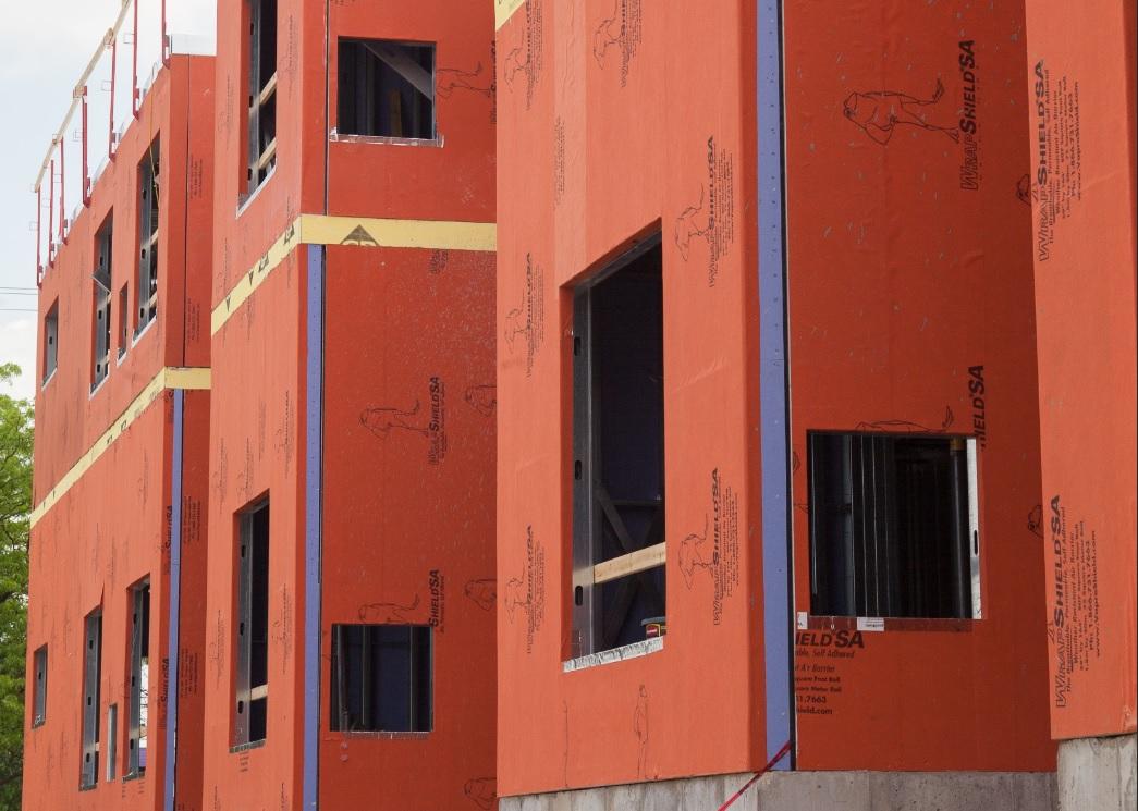 WrapShield SA panelized construction project
