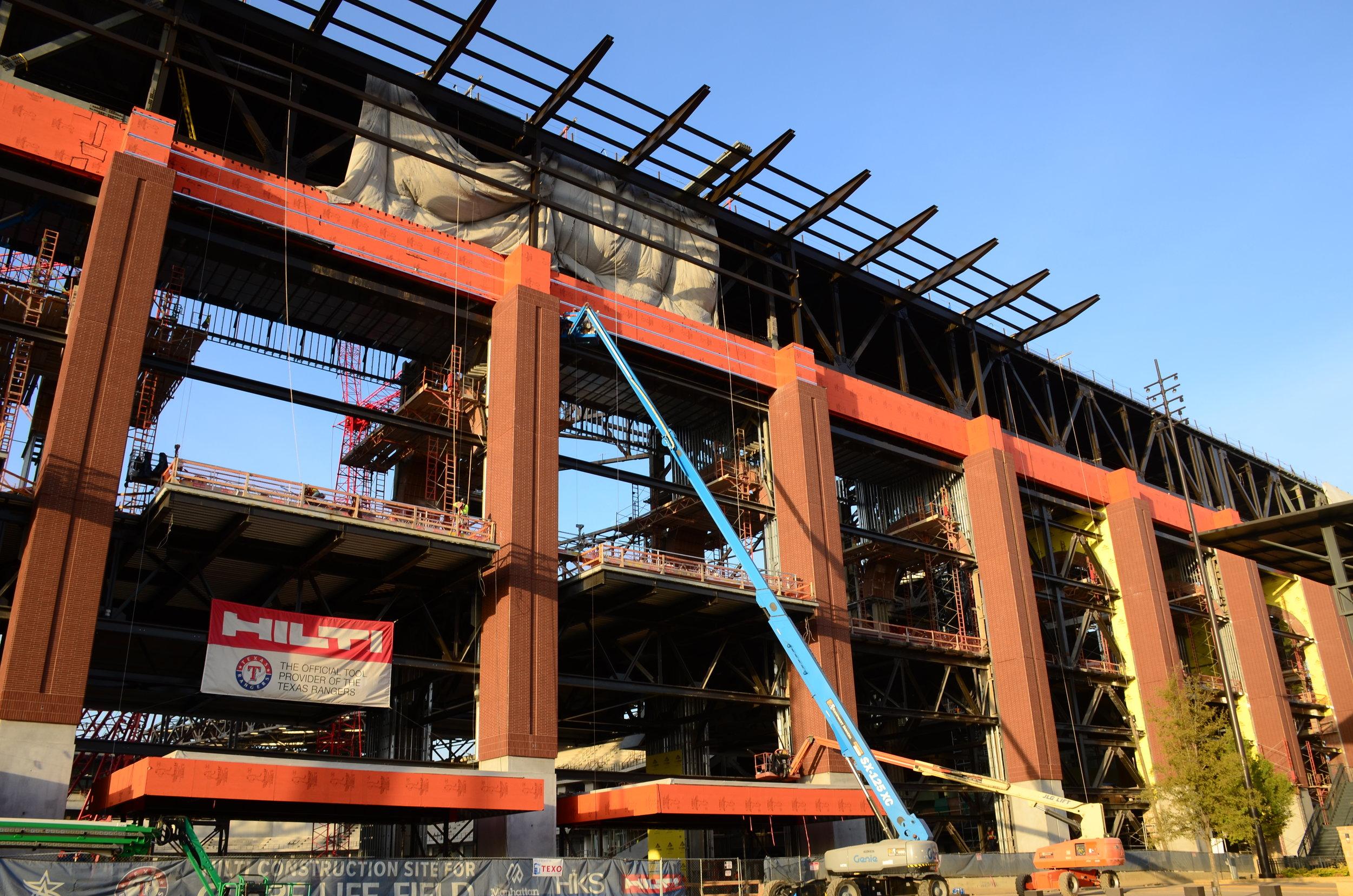 WrapShield SA Texas Rangers Stadium