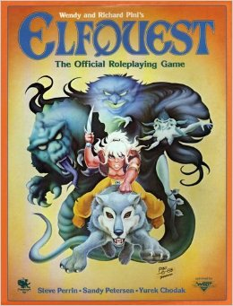 Elfquest - Pub. Circa 1984Role play as elves int the land of Two Moons. Based on the comics by Wendy and Richard Pini.