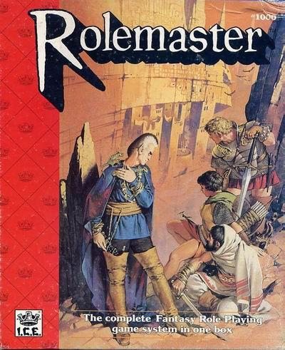 Rolemaster - Pub. Circa 1980Iron Crown Enterprises powerhouse of Fantasy and adventure.