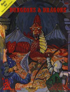 Dungeons & Dragons Basic - Pub. Circa 1977The one that started it all!