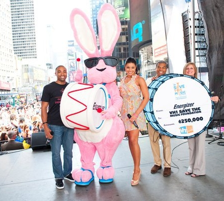 VH1 Save the Music Foundation Co-Hosted with American Idol Winner Jordin Sparks sponsored by Energizer.