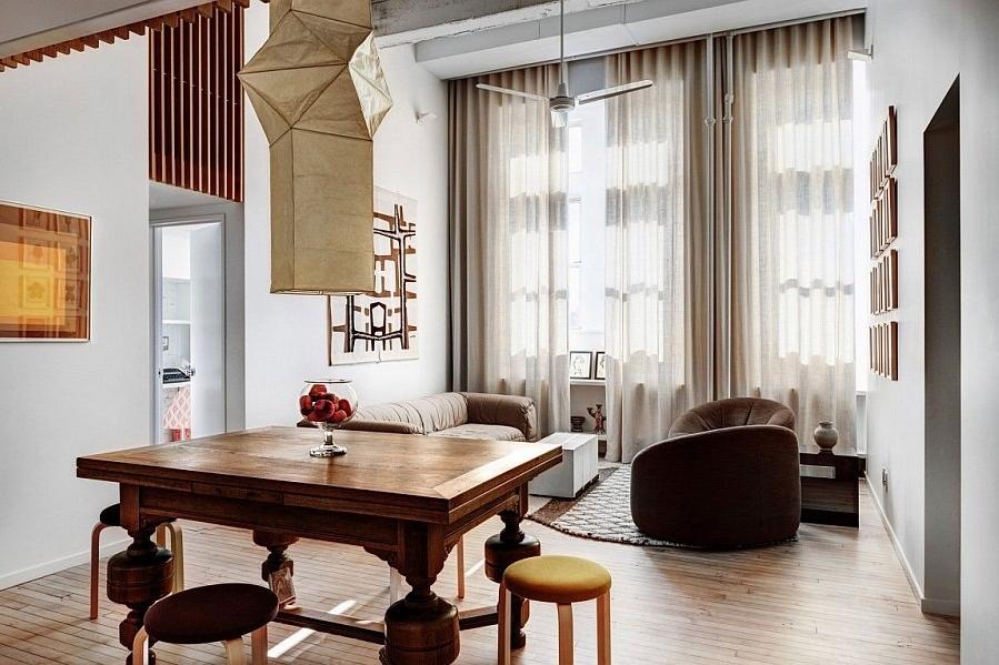 Brooklyn,Cobble Hill Apartment, Photography Bruce Buck