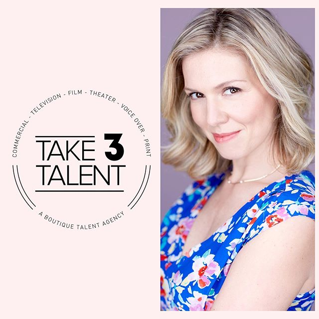 📣Double announcement!! Proud to say I'm now working with the fabulous team at @take3talent for commercials & print. AND... just booked!! 1st commercial spot together! 🤩🎉 #booked #teamwork #take3talent #commercials #print #mom