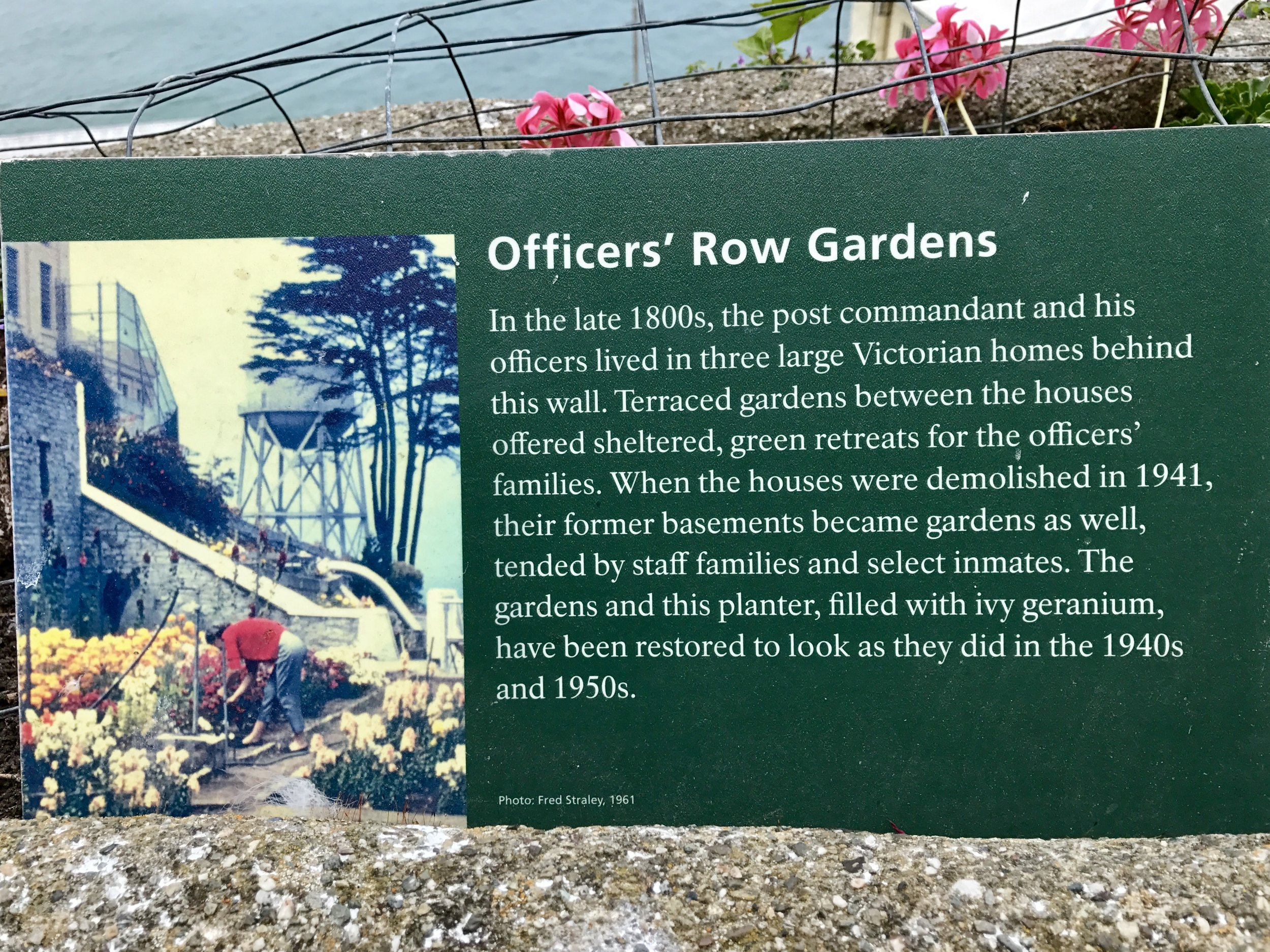 Officers' Row Gardens
