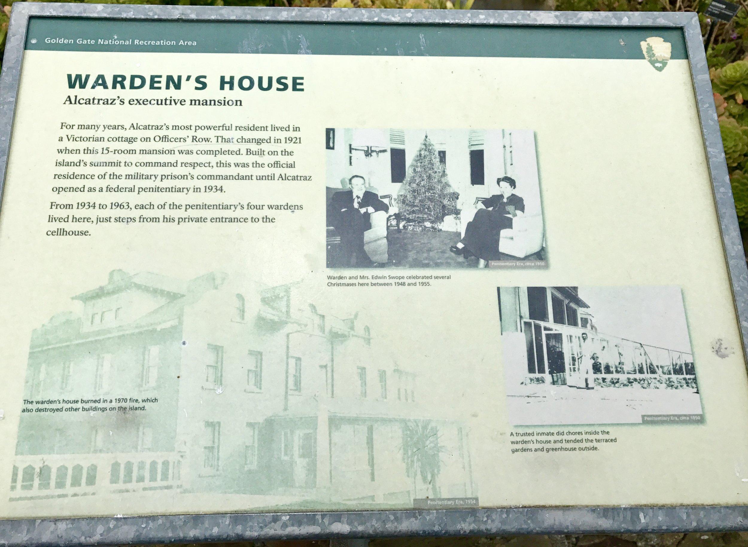 Warden's House