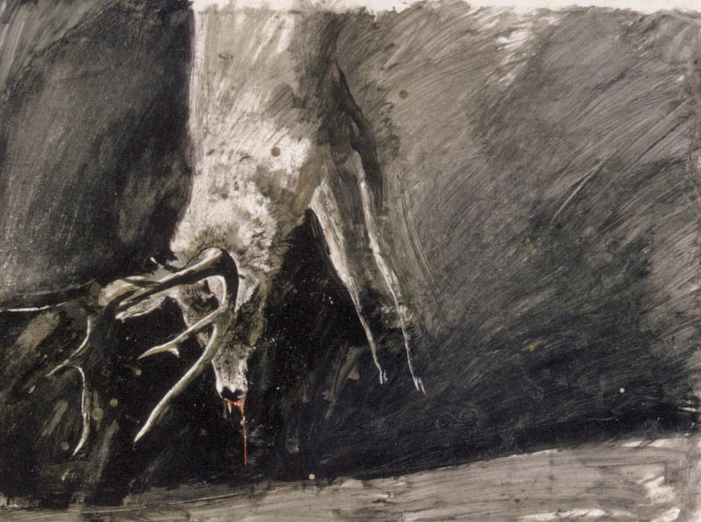 Illustration by Andrew Wyeth.