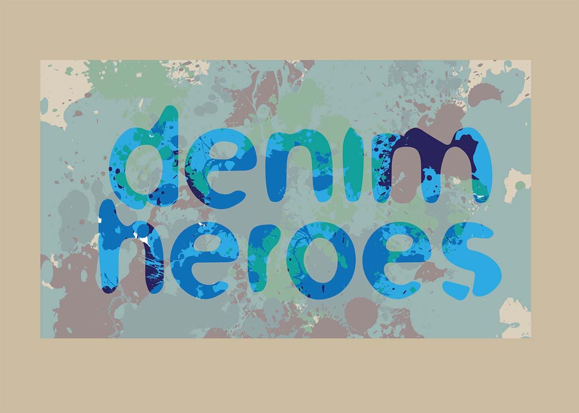 DENIM HEROES / Chest print summer 2014
