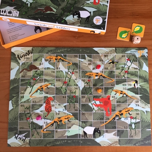 Happy Go KL/ Illustration and design Board Game and Box
