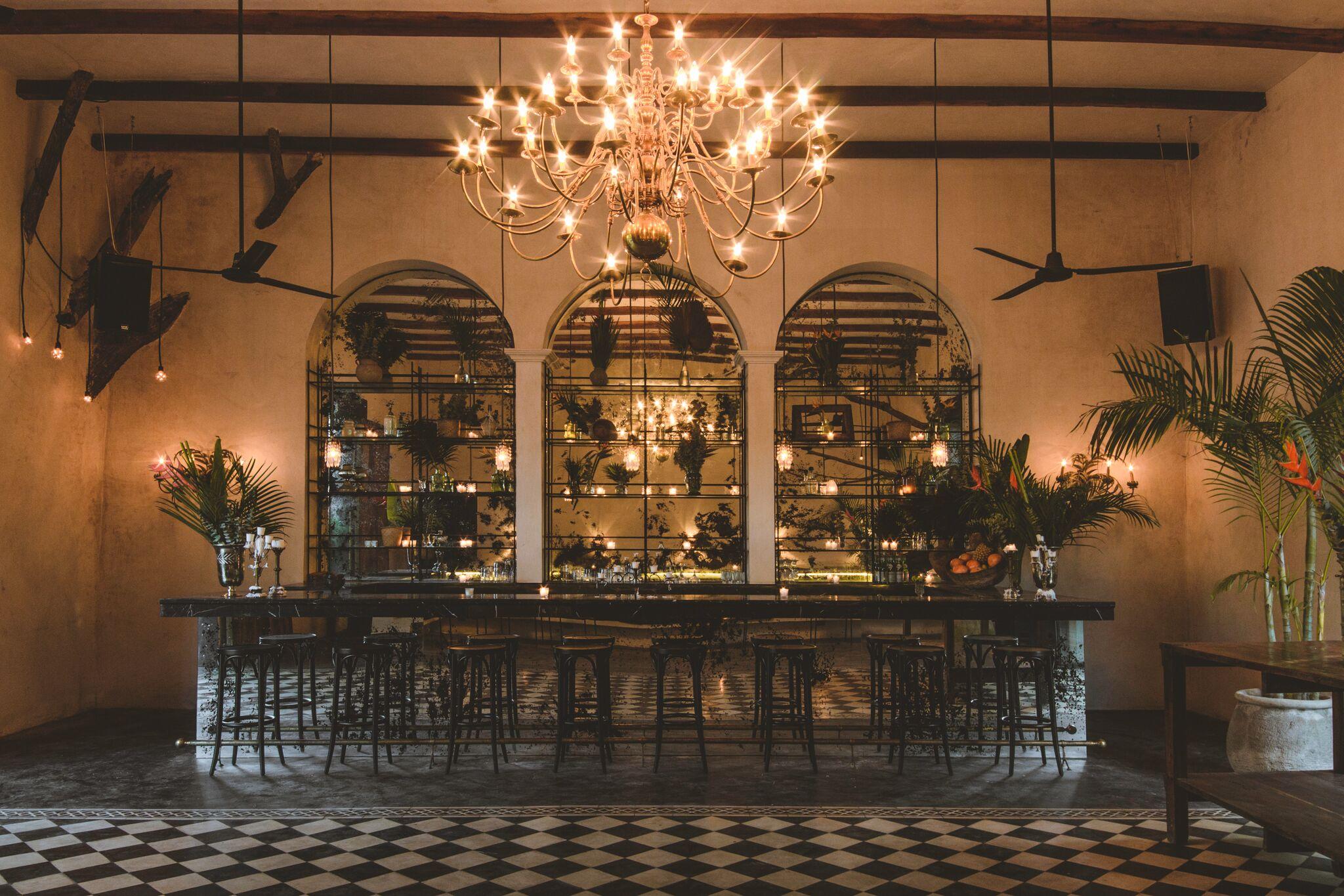 The Jungle Room at Gitano.