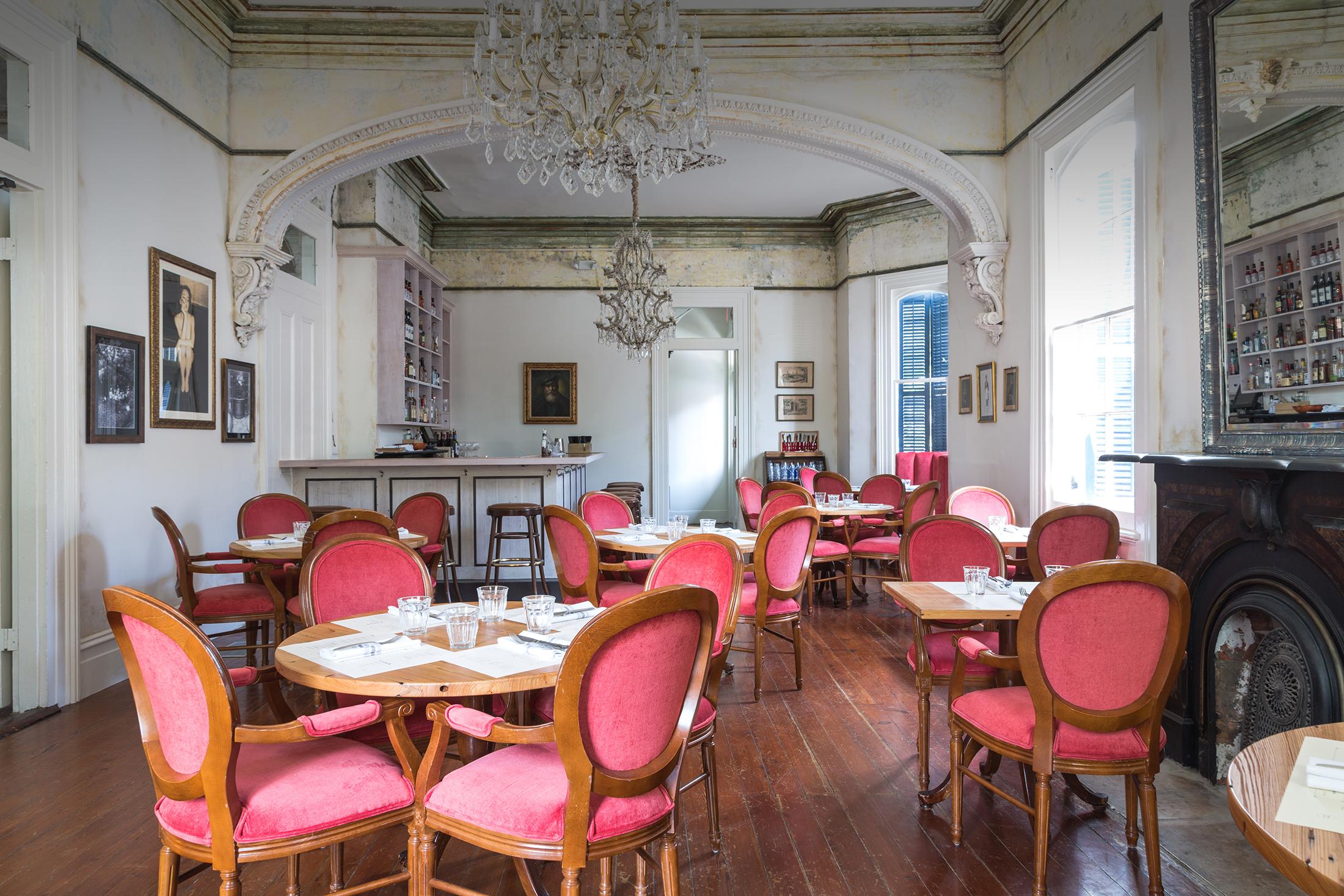 The dining room at Cavan.  Image via Cavan.