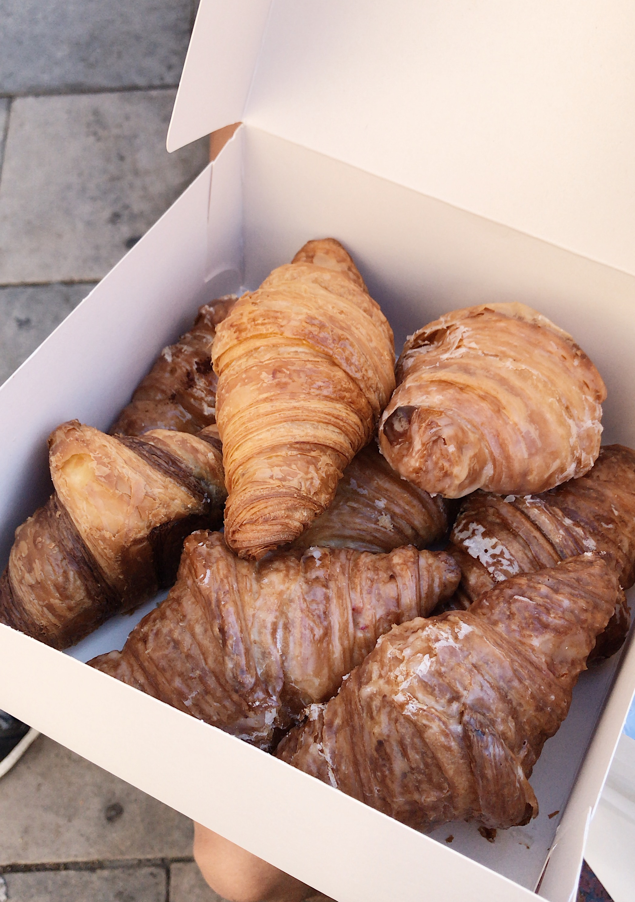 Barcelona Food Recap - Do you travel to eat? If yes, check out all the places I ate during my trip. (I ate more than croissants but these croissants were definitely one of my favorite things.) Buen provecho!