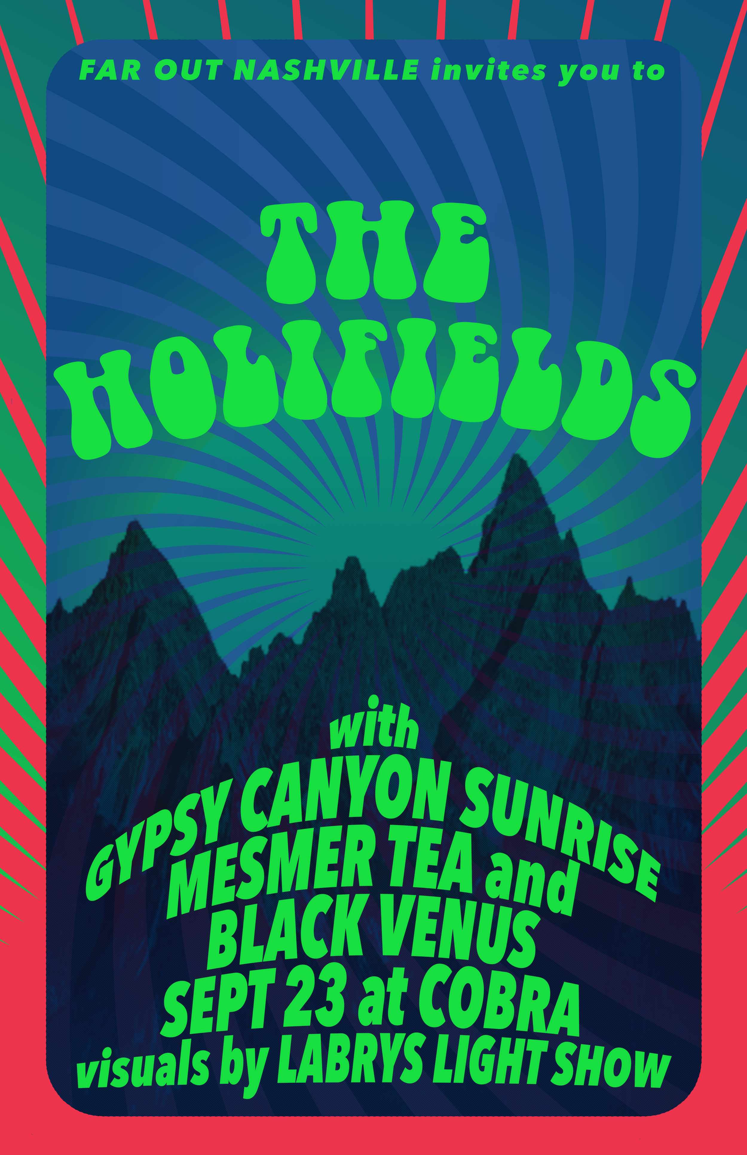 THE HOLIFIELDS poster by KARI LEIGH AMES