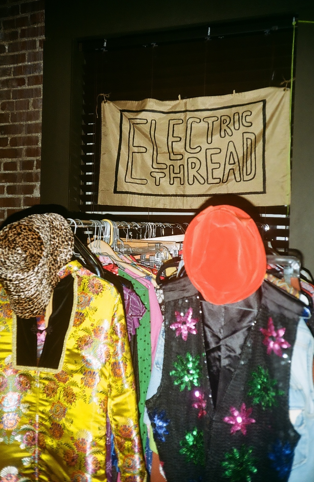 VINTAGE WEAR PROVIDED BY ELECTRIC THREAD